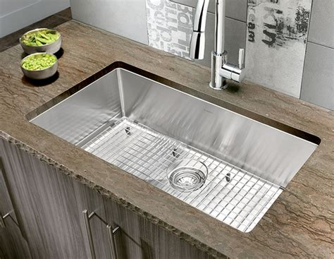 Oversized Stainless Steel Kitchen Sinks Quatrus R15 Stainless Steel Large Single Kitchen Sink Sinks Stainless Steel