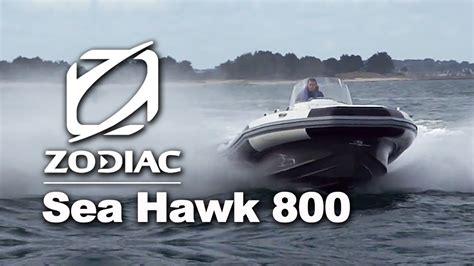 sea pro boats quality zodiac sea hawk 800 rigid inflatable boats rib youtube