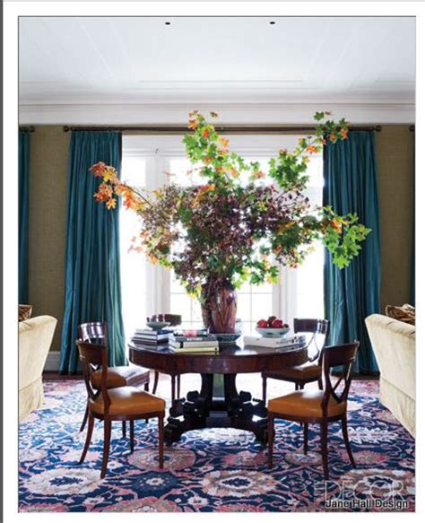 Green Themed Dining Room Teal Blue And Green Walls In A Traditional Style