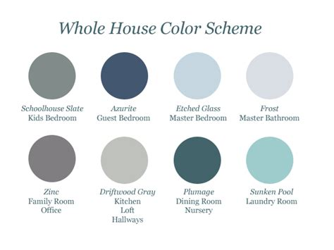 whole house color scheme martha stewart home depot coordinating colors marked w a symbol on