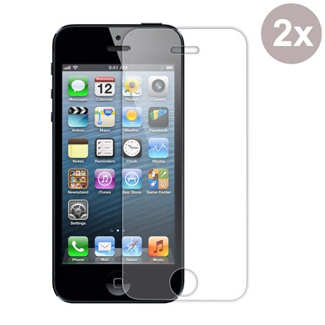 Tempered Glass For Iphone 5 iphone 5 5s tempered glass screen protector pdair 10
