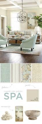 Spa Like Bathroom Paint Colors - coastal color palette for summer 2014 spa how to decorate