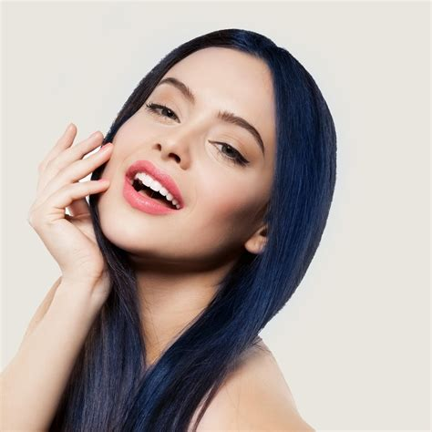 hair dye colors for black hair stargazer semi permanent hair dye blue black