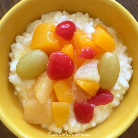 fruit and cottage cheese sweet bluebird cottage cheese fruit salad