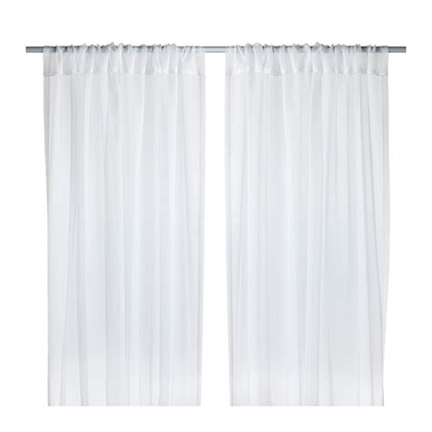 sheer curtains ikea ikea teresia sheer curtains 1 pair white nip window treatments