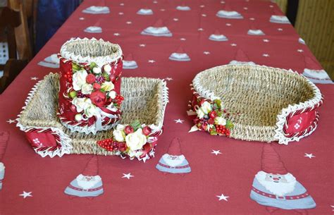 handmade pure cotton tablecloth christmas magic