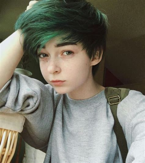 cute haircuts for ftm i love the hair color and the style a bit hair cuts