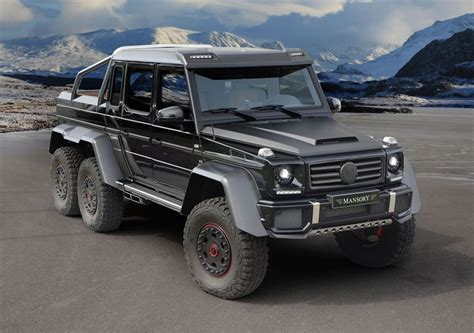 2014 mercedes g63 amg 6x6 by mansory image 1 2
