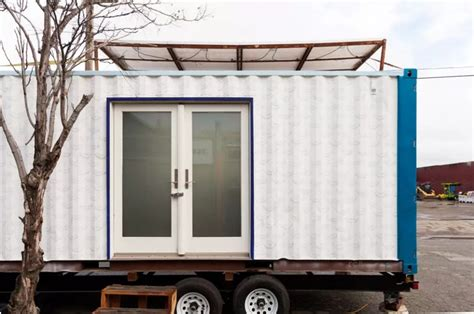 shipping container castle vacation  boxouse
