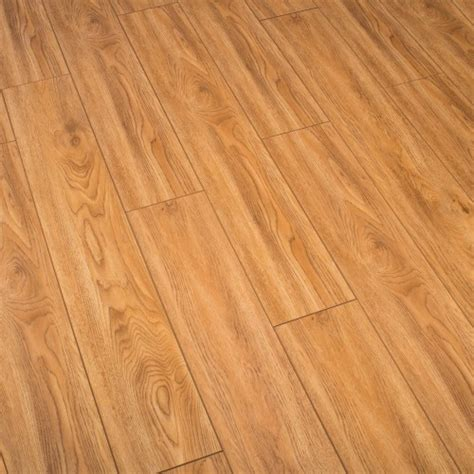 10mm Laminate Flooring by Balento Quietwalk Copper Oak Wood 10mm Laminate Flooring