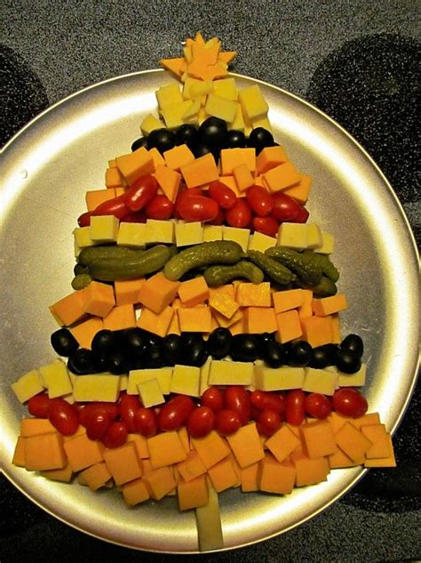 christmas tree relish tray mine cheese and veggie tray recipes lebanese food trees