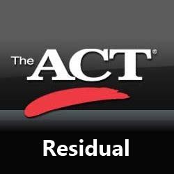 Wsu Mba Program Length by Act Residual