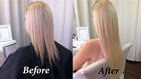 thin hair after extension removal my new tape in hair extensions first impressions and