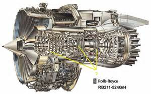 Rolls Royce W16 Engine Plane
