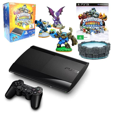 ps3 12gb console new look 12gb playstation 3 console with skylanders giants