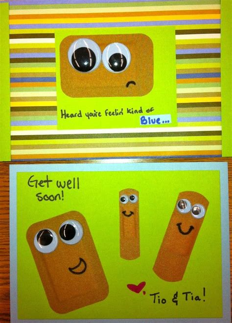 get well cards for to make get well card preschool activities