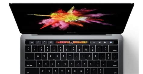 Macbook Pro Di Amerika susul microsoft apple hadirkan macbook pro dengan touch bar okezone techno