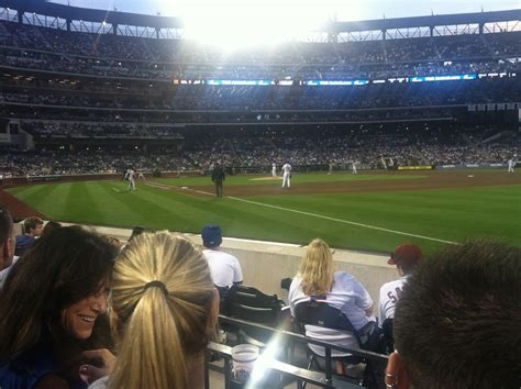 citi field section 109 the view from your seat mets vs orioles 6 19 12 amazin