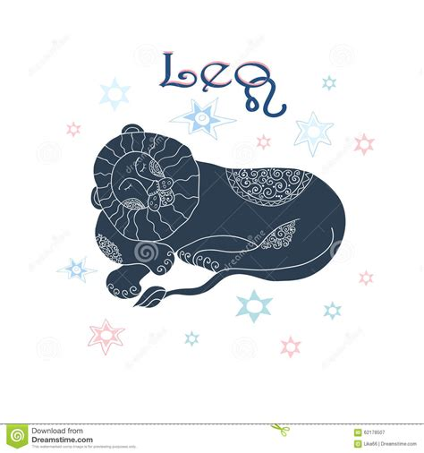doodle zodiac zodiac sign stock vector image 62178507