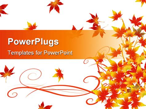 free fall powerpoint templates autumn powerpoint templates free images