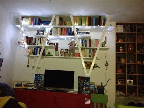 libreria fai da te libreria originale con materiale di riciclo 20 idee