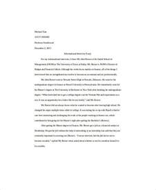 Self Essay Exles by 7 Self Introduction Essay Exles Sles