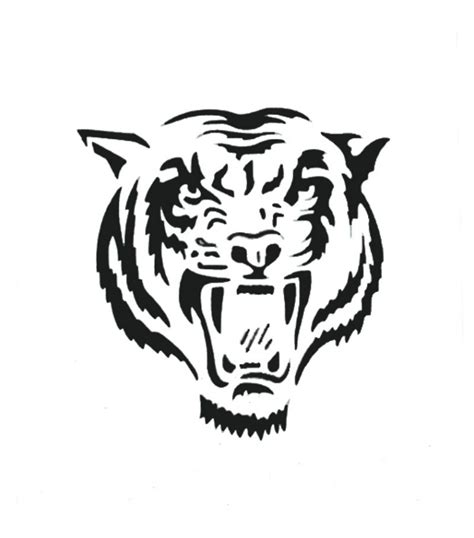 tiger stencil printable www imgkid com the image kid