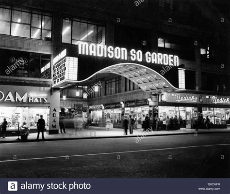 madison square garden marquee night west  street