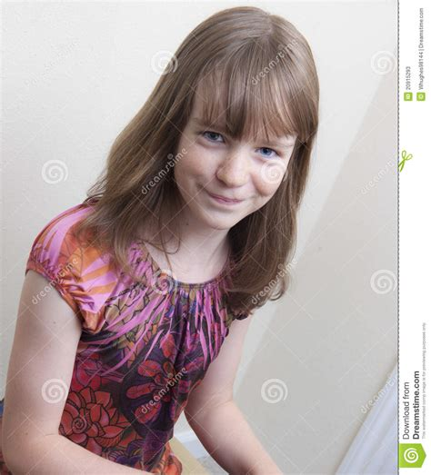 preteen girls pics smiling preteen girl at the piano stock image image of