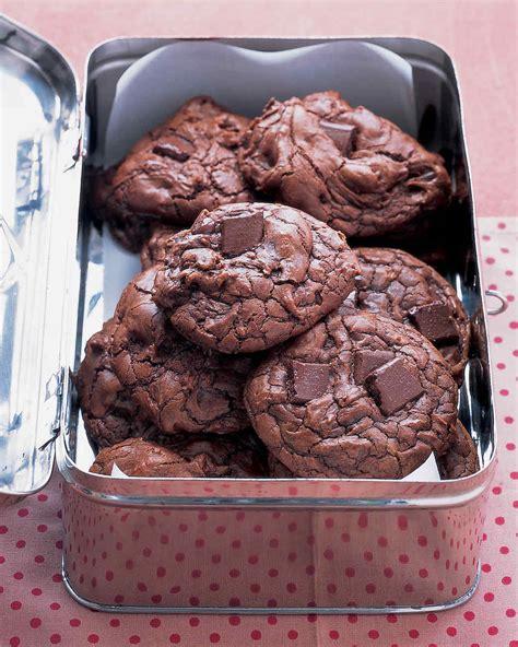 chocolate cookie and brownie recipes martha stewart outrageous chocolate cookies recipe martha stewart