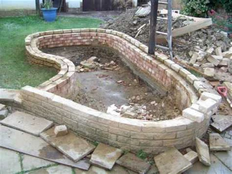 how to build a garden fish pond garden structures