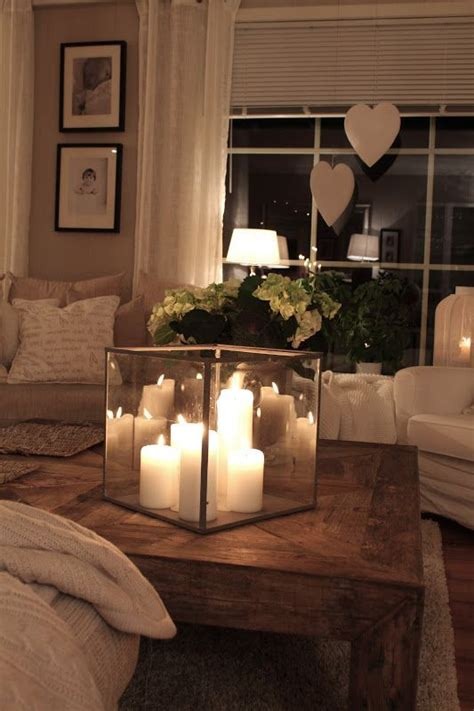 how to decorate candles at home 20 super modern living room coffee table decor ideas that