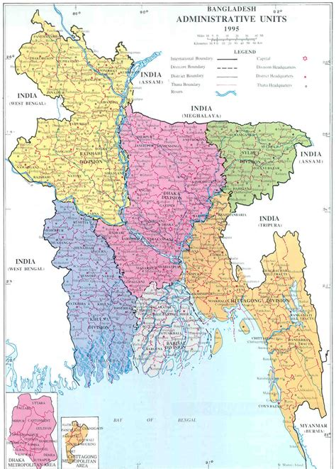 map of bangladesh address of dhaka