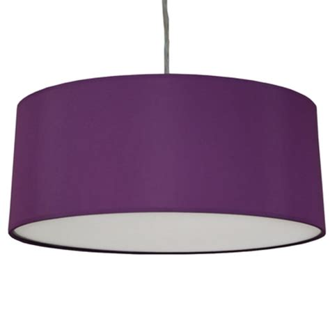 Purple Ceiling Light Shades Drum Pendant Shade Purple Imperial Lighting