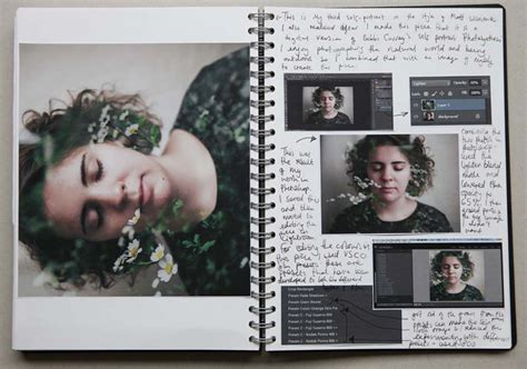 sketchbook exles portfolio and guidelines arts