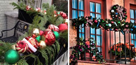 decorar el patio en navidad ideas para decorar el balc 243 n en navidad