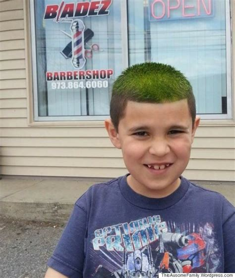 best time to cut hair barber helps 8 year old with autism learn to love haircuts