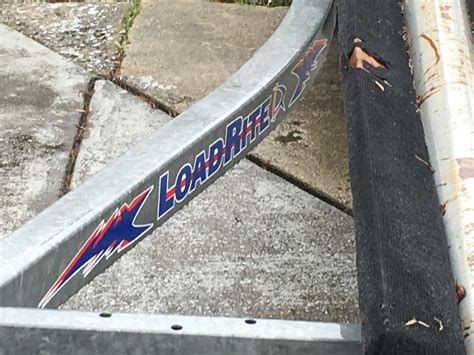 load rite pontoon boat trailer load rite pontoon trailer great shape boat for sale from usa