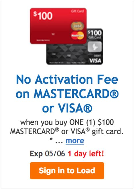 Visa Gift Card Wont Work - kroger 100 fee free visa mc gift card deal doctor of credit