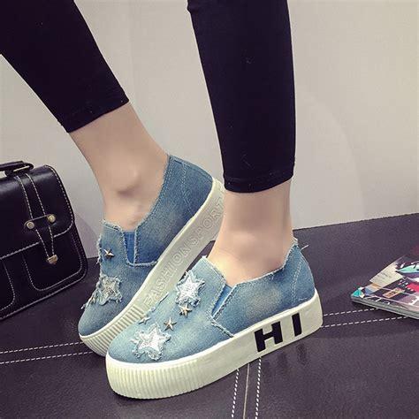 Flat Shoes Denim 1 aliexpress buy s flat shoes 2016 flat