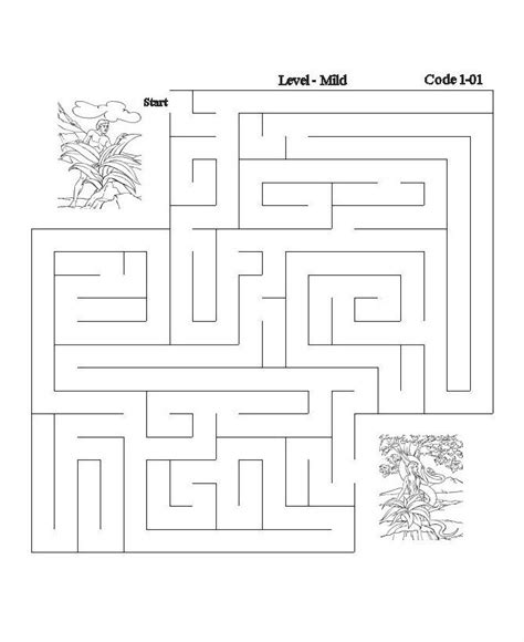 printable maze sheets 17 best images about bible activity pages on pinterest