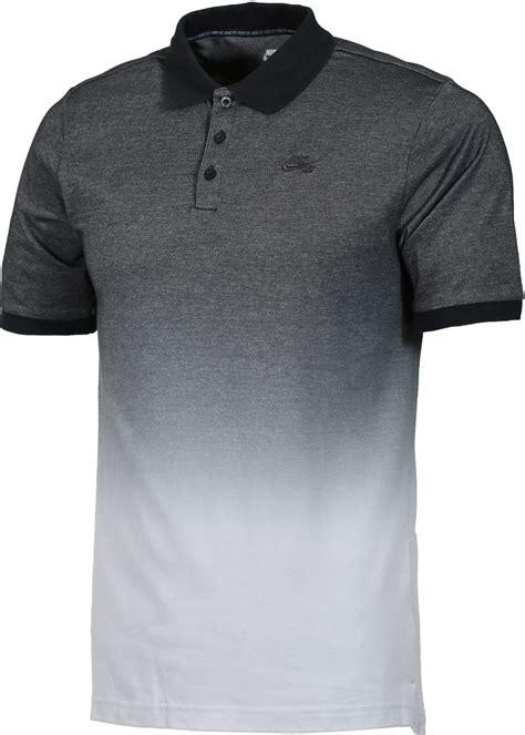 Kaos Polo Shirt Nikenike Polo Shirt nike sb dri fit dip dye pique polo shirt black wolf grey anthracite free shipping