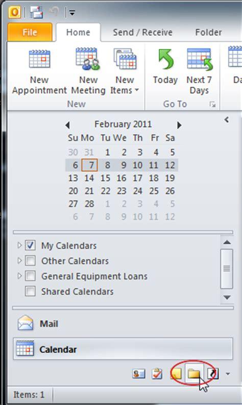 Folder Desk How To View Public Folders Calendars Outlook 2010