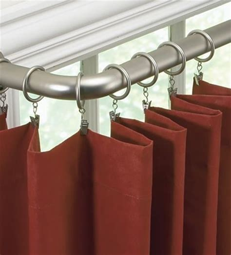 barricade curtain rod blockaide energy efficient curtain rod energy efficient