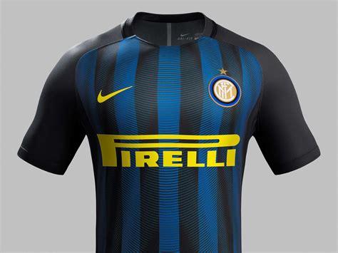 Jaket Inter Milan 16 17 inter milan 16 17 home kit released footy headlines
