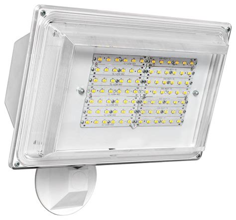 Led Outdoor Flood Lights Wall Pack Transitional White Wall Pack 42 Watt Outdoor Led Floodlight Contemporary Outdoor Wall Lights