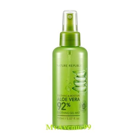 Nature Republic Soothing Gel Mist 150ml nature republic aloe vera soothing end 5 12 2018 7 15 pm