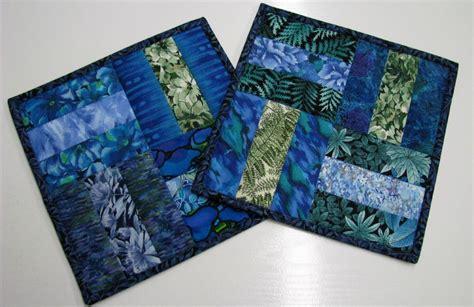 batik placemat pattern batik mug rugs great use of scraps home sewn love