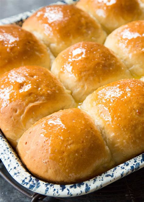 the rolls potato dinner rolls recipe simplyrecipes com