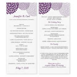 wedding program template microsoft word wedding program template by diyweddingtemplates